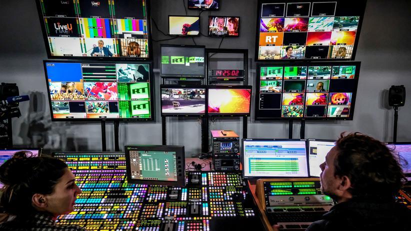 Russia Today Fernsehen Sender