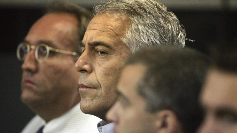US-Milliardär: US-Milliardär Jeffrey Epstein im Gerichtssaal in West Palm Beach