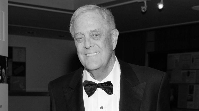 Milliardär David Koch ist tot