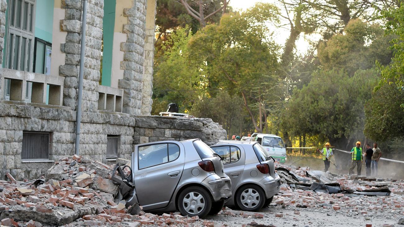 Albanien: Mehr als 100 Verletzte bei Erdbeben an der Adria