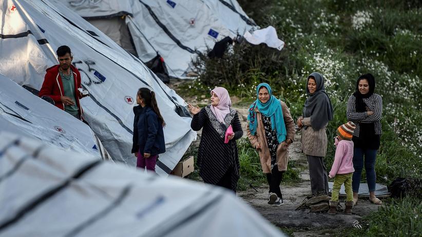 Lesbos: Chef des griechischen Flüchtlingslagers Moria gibt auf