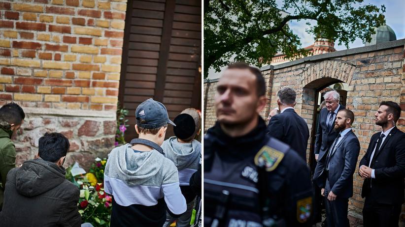 Anschlag in Halle: Terror hier? Vor der eigenen Haustür?