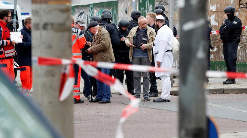 Schüsse vor Synagoge: Was wir über den Anschlag in Halle wissen