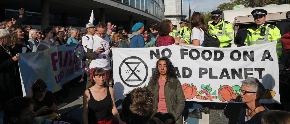Klimaprotest: Londons Polizei erlässt Demoverbot für Extinction Rebellion