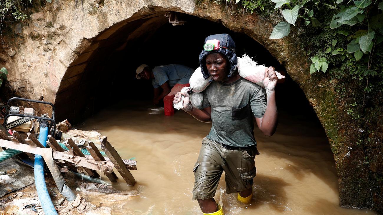 Kongo: Mehrere Tote bei Mineneinsturz