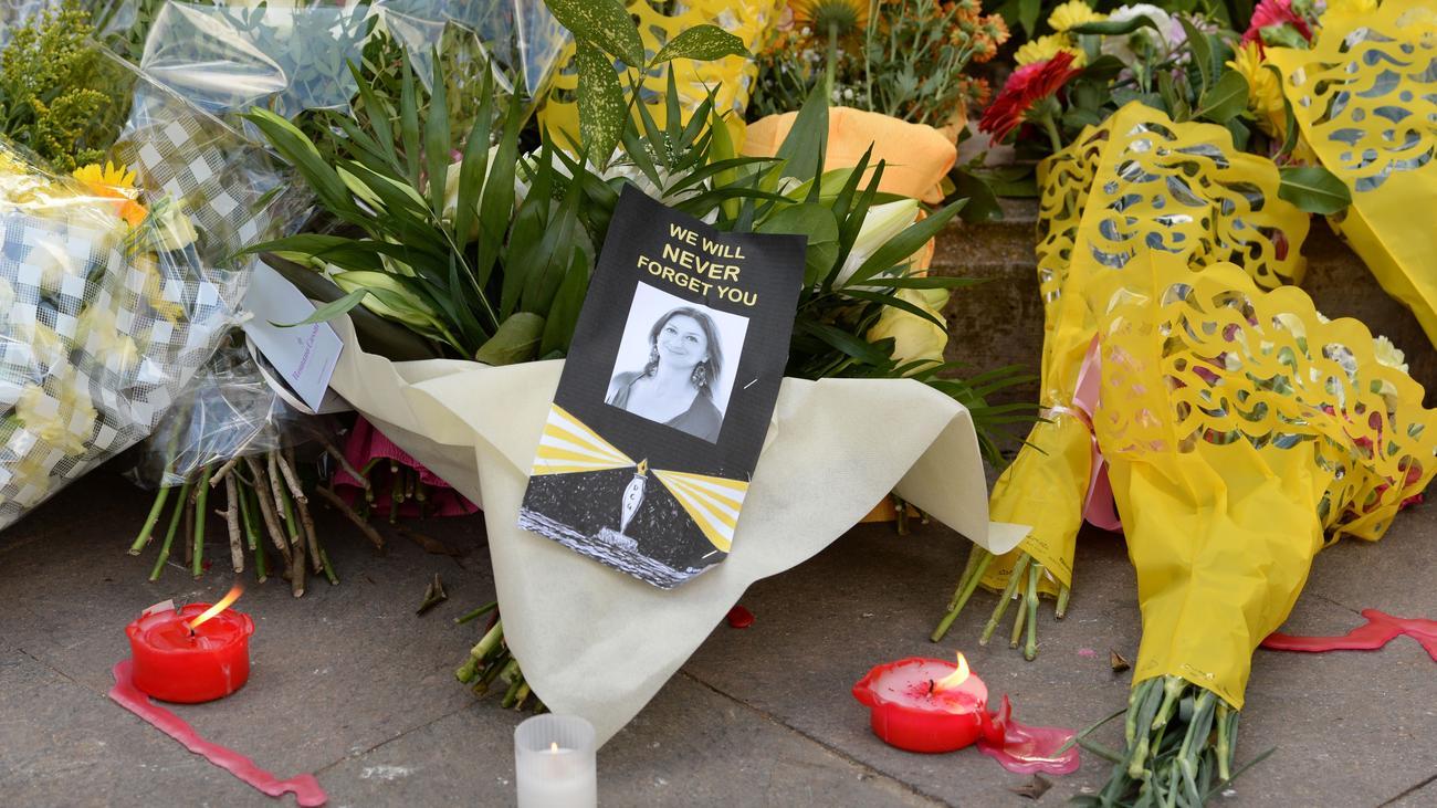 Daphne Caruana Galizia: Geschäftsmann wegen Mordes an Journalistin in Malta festgenommen