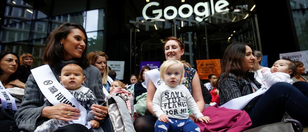 Klimaschutz: Google-Angestellte fordern Klimaschutzplan von Konzernleitung