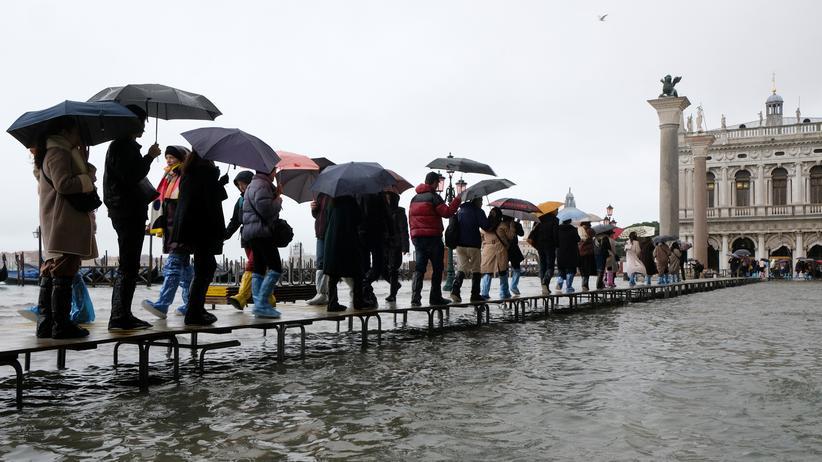 Italien: Venedig will wegen Hochwassers Notstand ausrufen