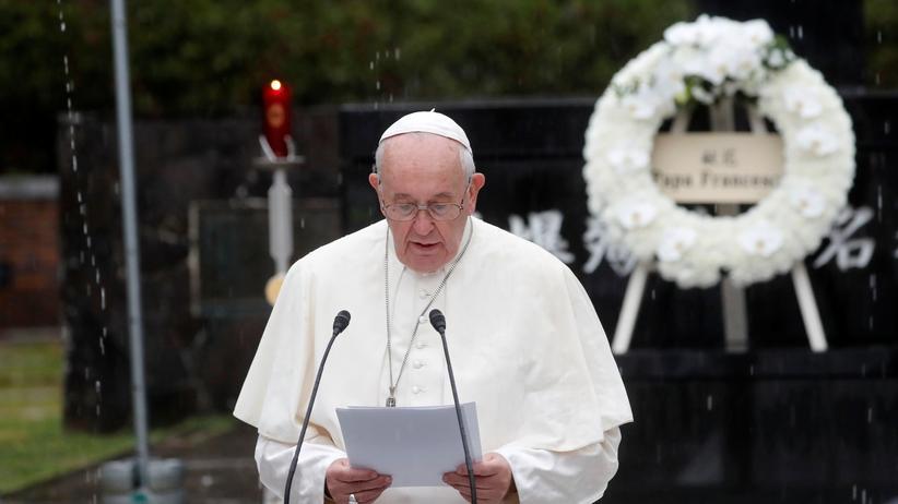 Nagasaki: Papst fordert Aus für Atomwaffen