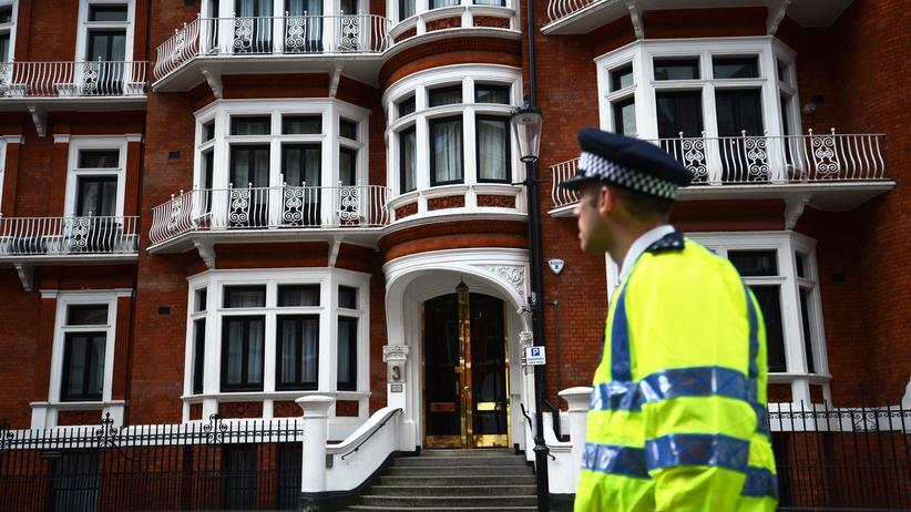 WikiLeaks: In der ecuadorianischen Botschaft in London sollen neben Julian Assange auch Journalisten des NDR ausgespäht worden seien.