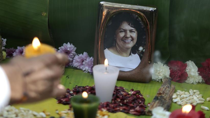 Der Mord an Berta Cáceres hatte international Empörung ausgelöst.