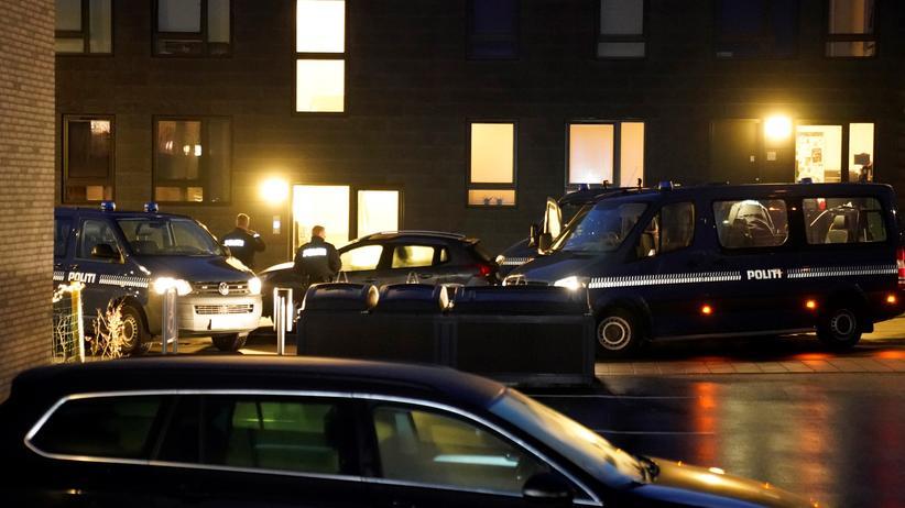 Terrorverdacht: Einsatzkräfte im dänischen Aalborg