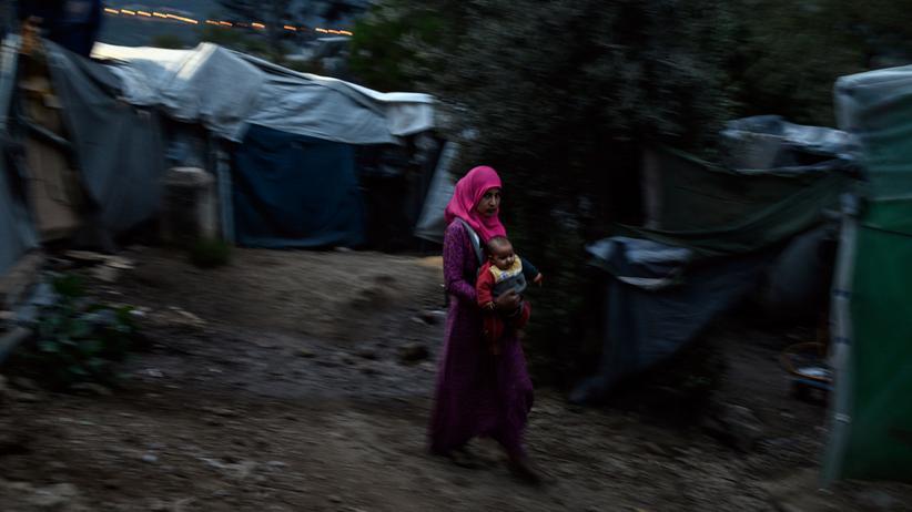 Griechenland: Das Lager Vathy auf Samos ist völlig überfüllt.