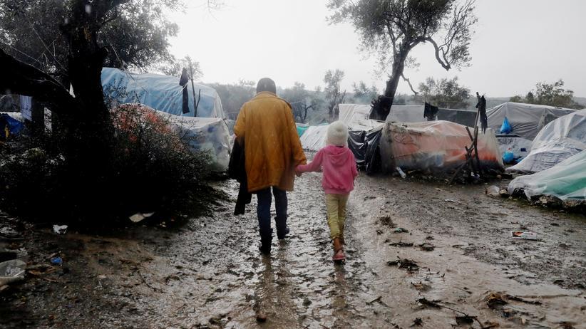 Griechische Flüchtlingslager: Caritas fordert sofortige Hilfe für Geflüchtete in Griechenland