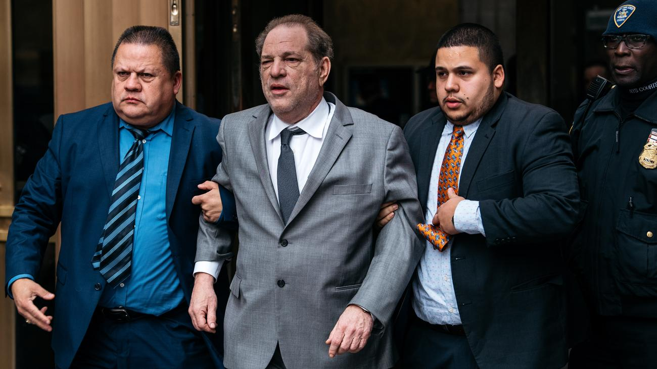Missbrauchsskandal: Staatsanwaltschaft fordert höhere Kaution für Harvey Weinstein