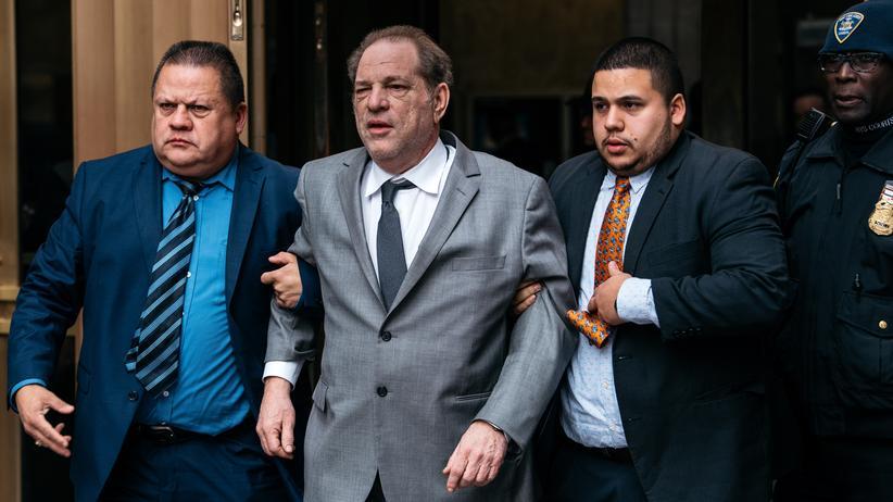 Missbrauchsskandal: Harvey Weinstein erzielt Millionen-Vergleich mit Klägerinnen