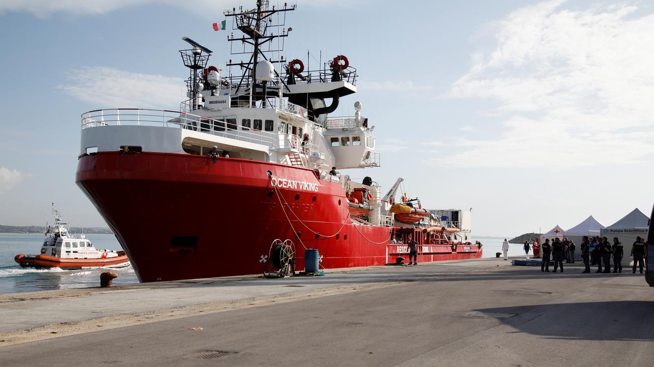 """Ärzte ohne Grenzen: Keine Pause für die """"Ocean Viking"""""""