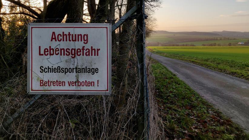 Mordfall Walter Lübcke: Schießstand der Schützengesellschaft zu Grebenstein
