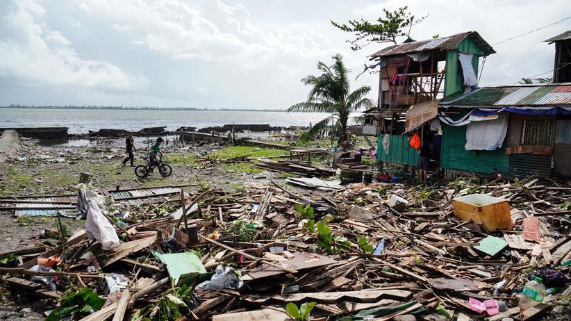 Taifun Phanfone: Sturm sorgt auf den Philippinen für Verwüstung