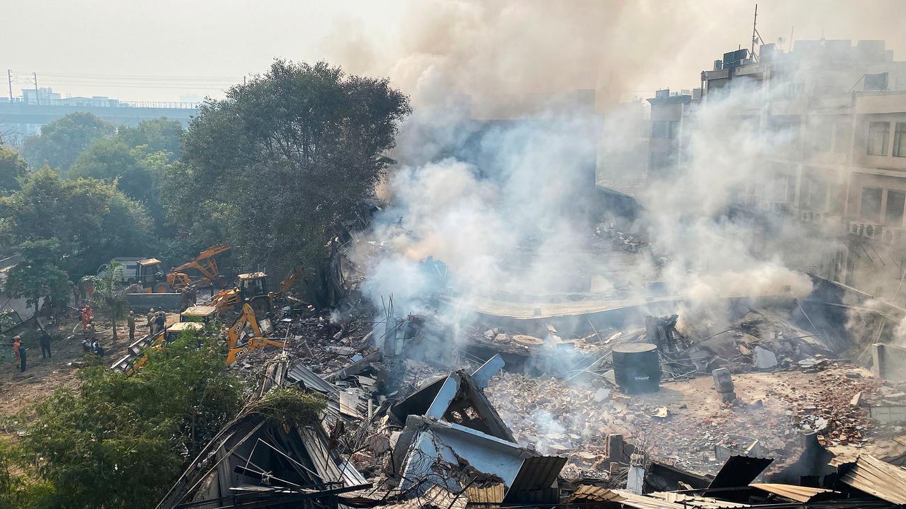 Indien: Ein Toter und mehrere Verletzte bei Fabrikbrand in Neu-Delhi
