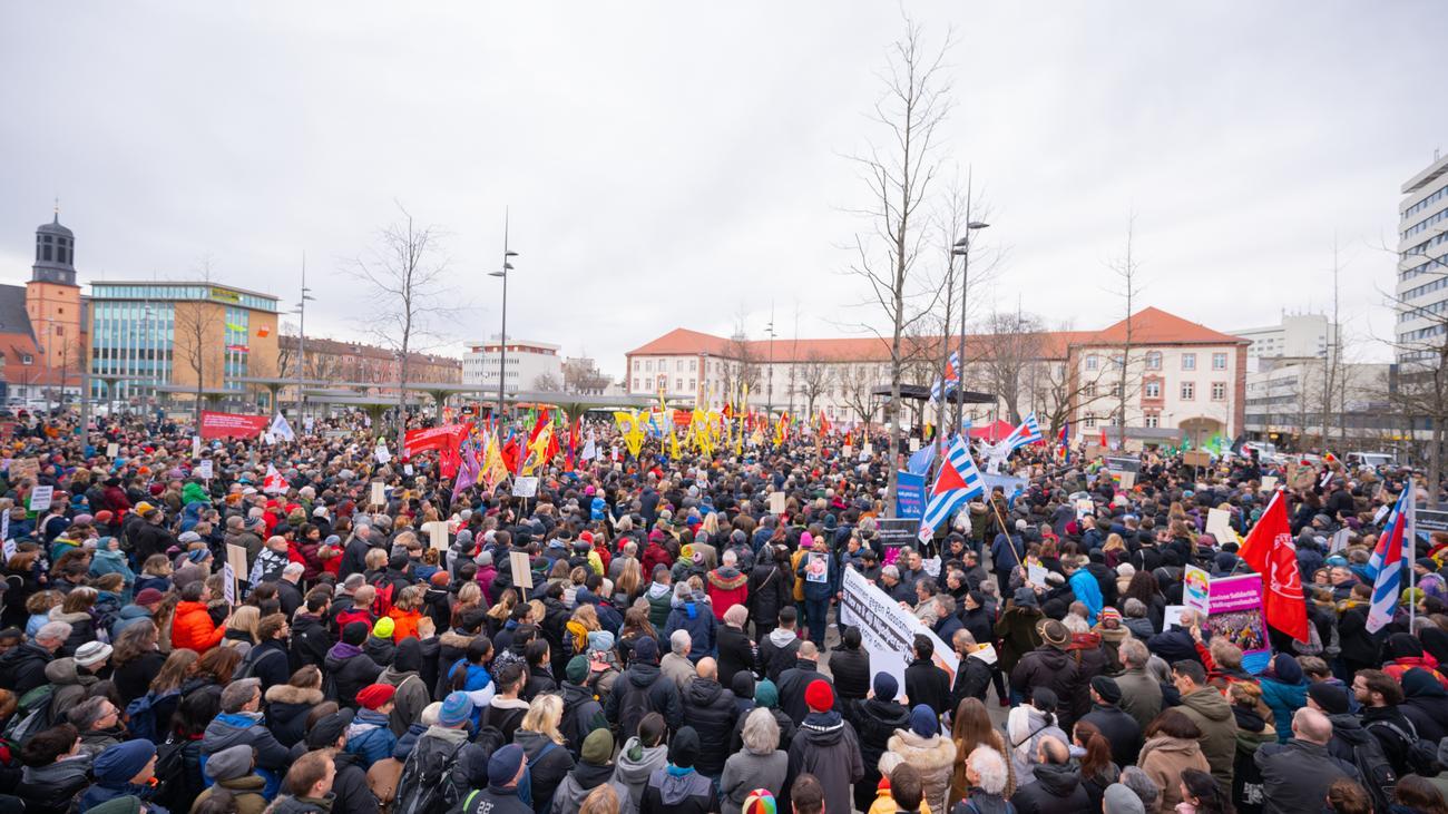 """Hanau: """"Es ist der Kampf gegen die Entmenschlichung"""""""