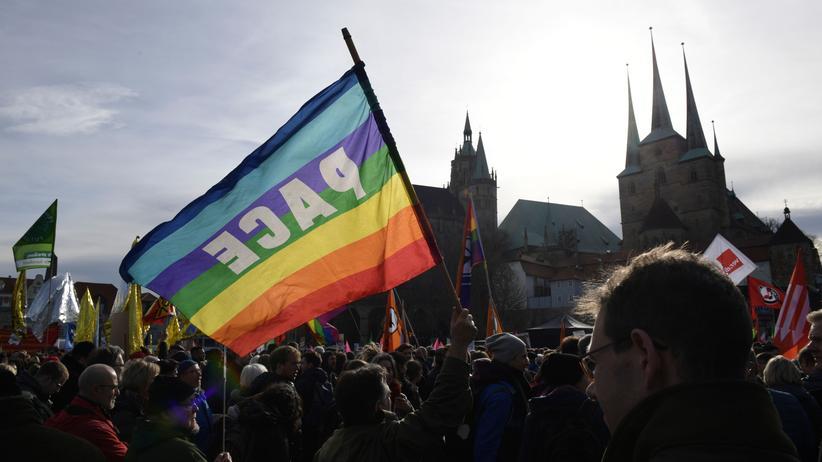 Thüringen: Das Motto der Demonstration: