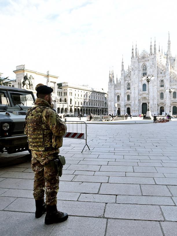 Quarantäne in Norditalien: Eine Region steht still