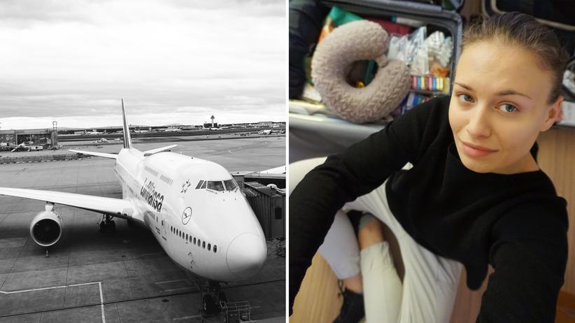 US-Einreiseverbot: Die Lufthansa sagt viele Flüge ab, unsere Autorin hatte Glück und hat kurzfristig einen nach New York ergattert.