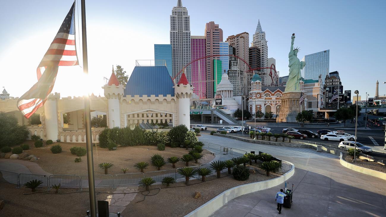 Las Vegas Zeit