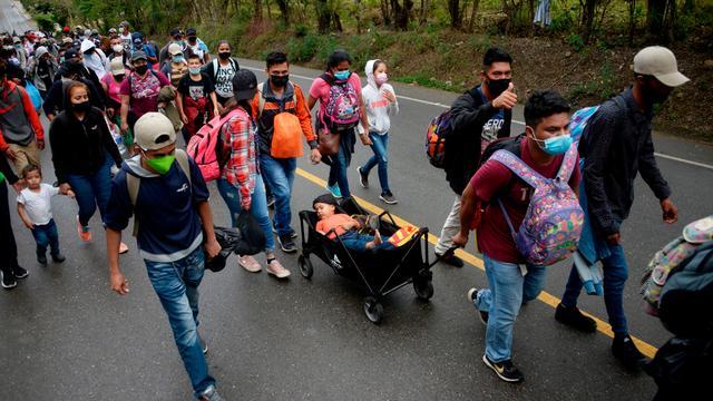 Honduras: Mehr als 9.000 Geflüchtete erreichen Guatemala