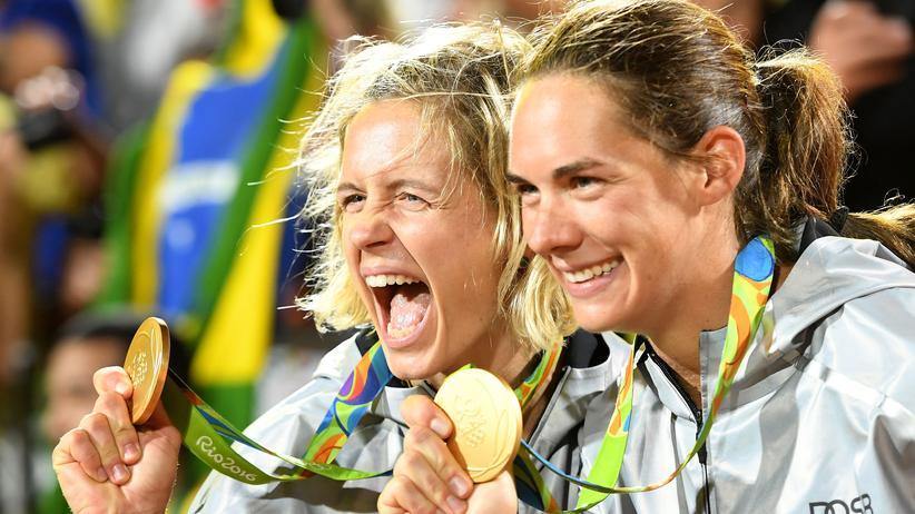 "Laura Ludwig und Kira Walkenhorst: ""Beachvolleyball ist ein Hype geworden"": Laura Ludwig und Kira Walkenhorst"