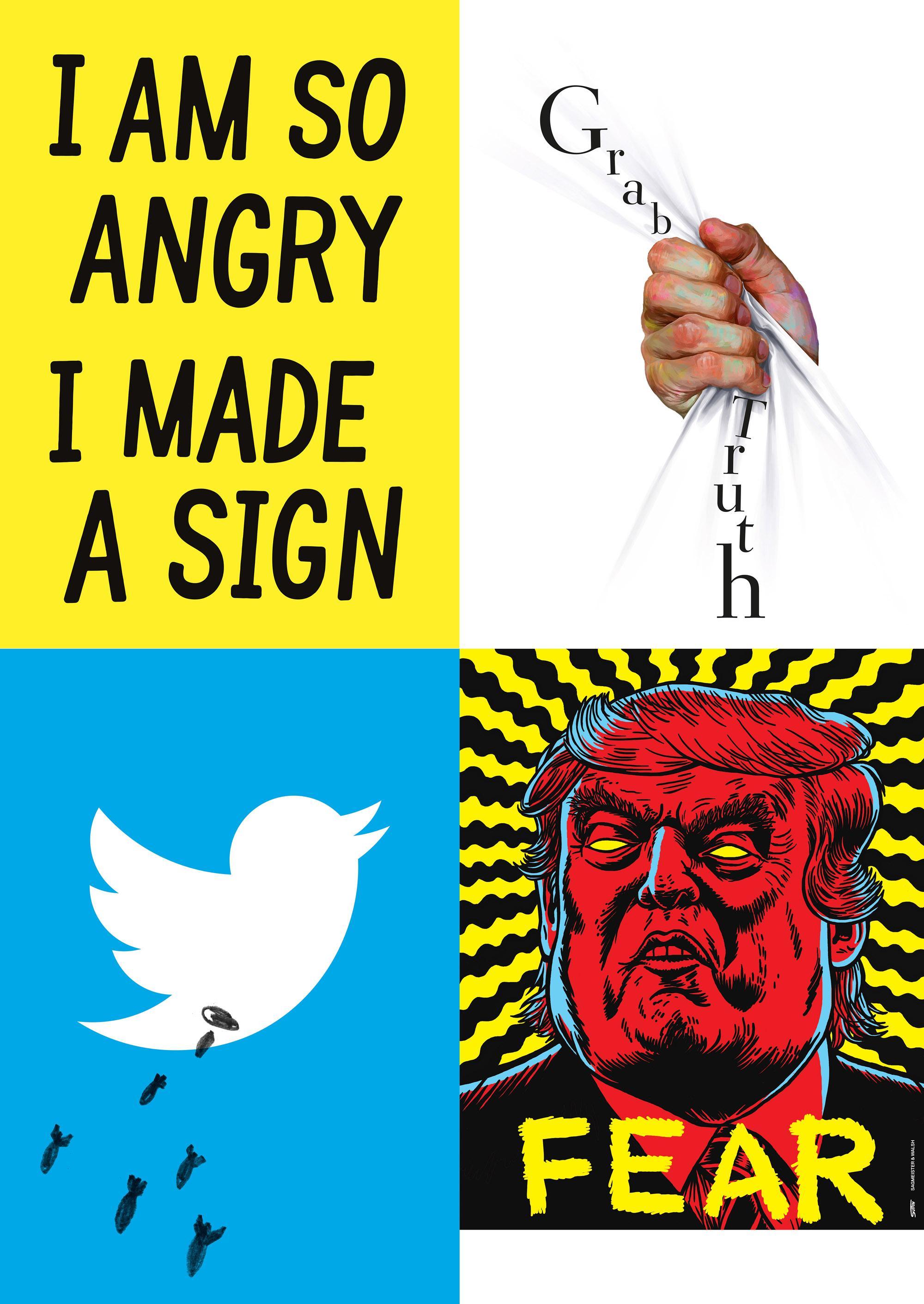 Designer aus der ganzen Welt entwarfen Plakate für mehr Demokratie und Meinungsfreiheit. Gezeigt werden sie in der – oben erwähnten –Ausstellung im Designxport in der Hongkongstraße.