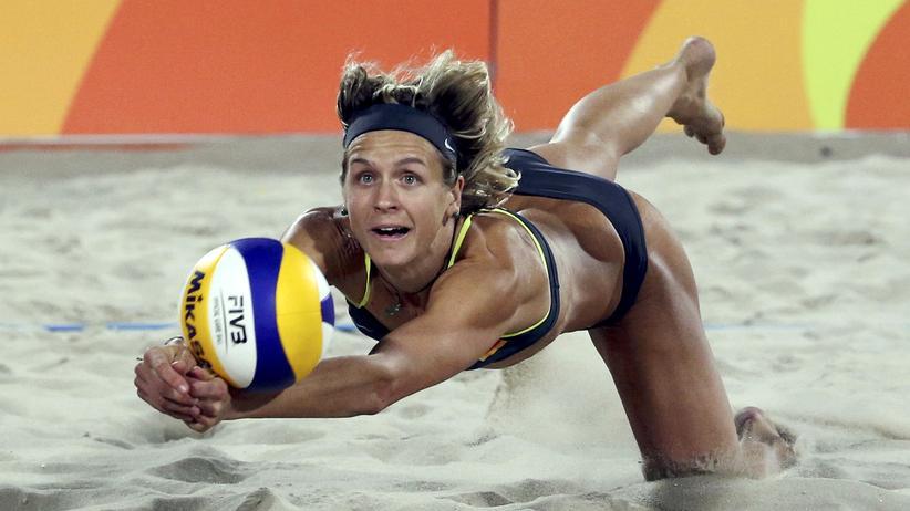 Laura Ludwig: Laura Ludwig bei den Olympischen Spielen 2016 in Rio