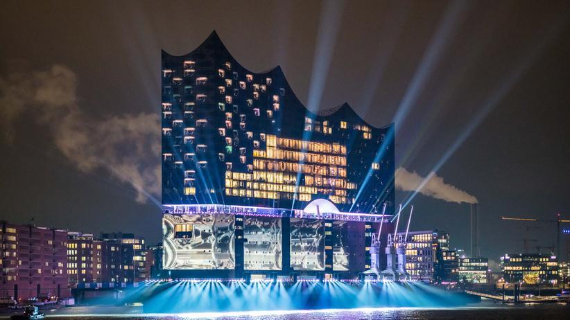 Elbphilharmonie: Die Elbphilharmonie am Tag ihrer Eröffnung