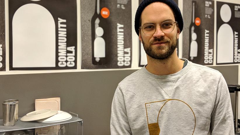 Craft Limo: Ein Jahr lang tüftelte Jan van Schwamen allein im Labor an seiner Cola-Kreation, jetzt ist das Produkt auf dem Markt.