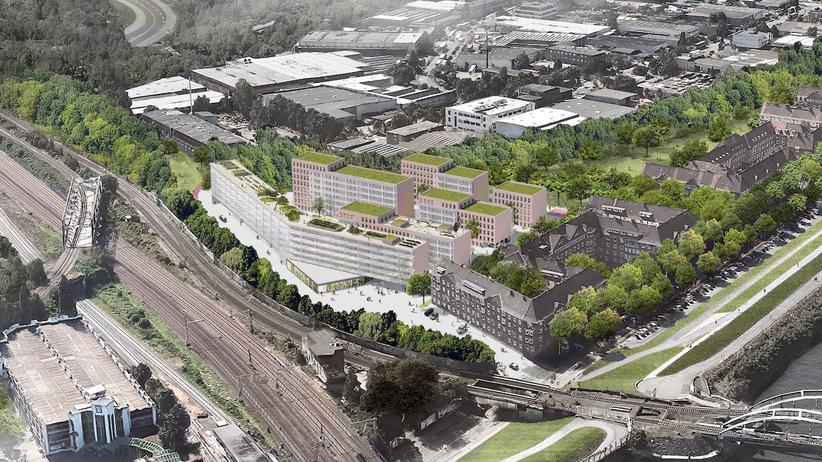 Stadtentwicklung: Neues Wohngebiet an S-Bahn-Station Veddel