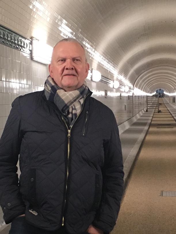 Elbtunnel: Hartmut Gräf ist Bauingenieur und hat als Projektleiter die Sanierung der Oströhre des Alten Elbtunnels betreut.