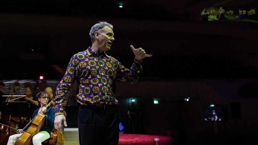 """Doug Fitch: """"Die Elbphilharmonie zwingt uns zur Improvisation"""""""