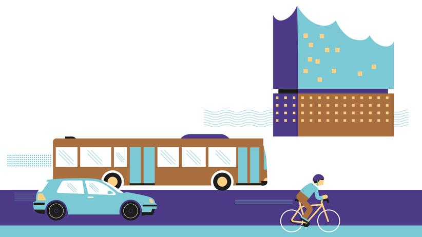 Hamburger Stadtverkehr: Wie wir unterwegs sind