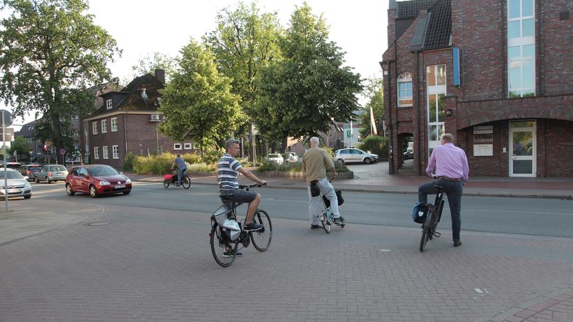 Ende der Fahrradstraße: Wo, bitte, geht es hier jetzt weiter?