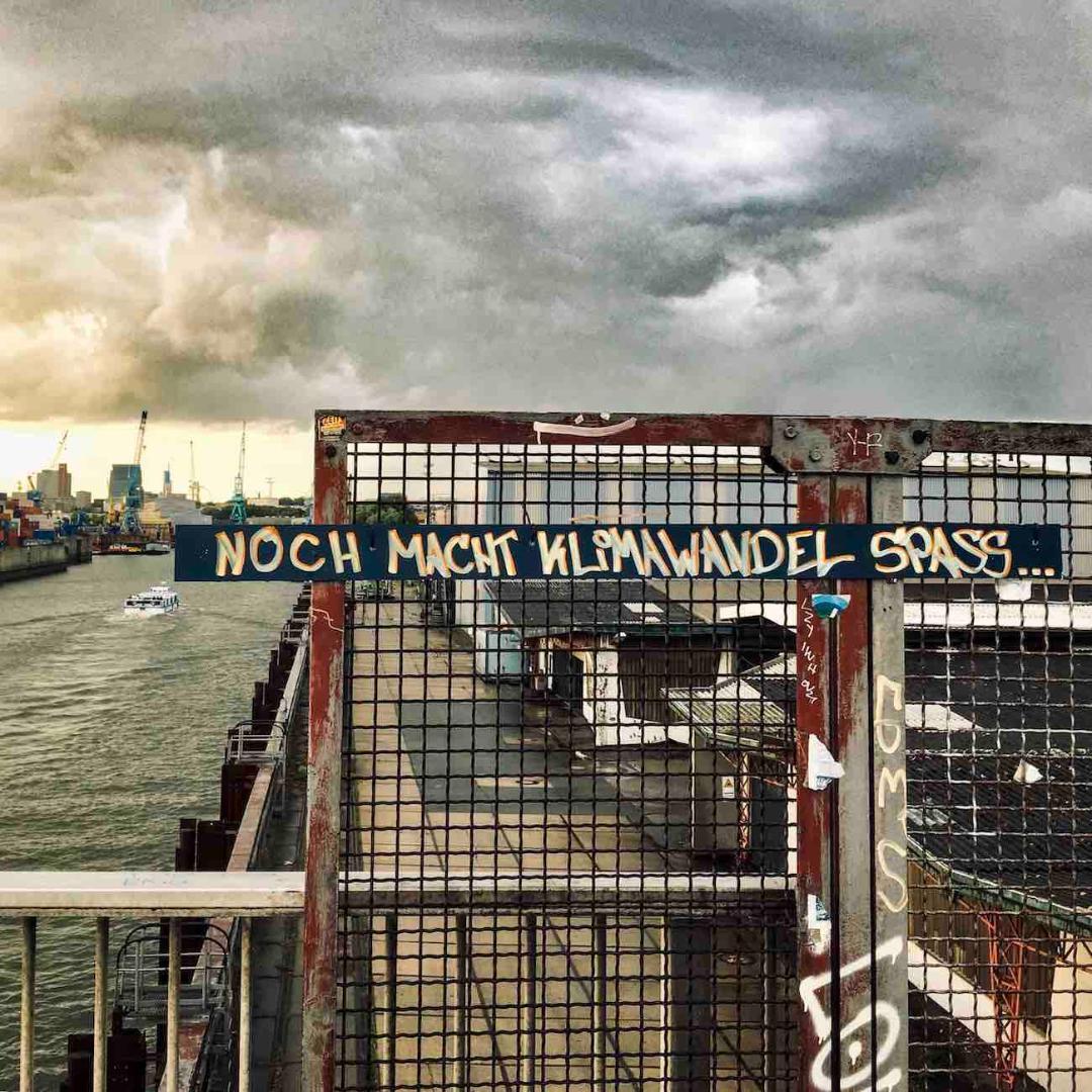 Ein Sturm zieht auf. Aufgenommen am Reiherdamm/Argentinienbrücke