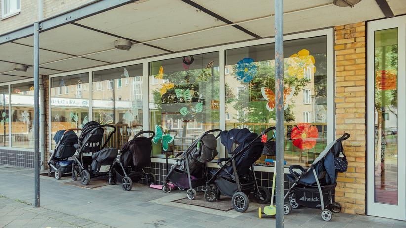 Dulsberg: Im Hamburger Stadtteil Dulsberg wohnen überdurchschnittlich viele Alleinerziehende.