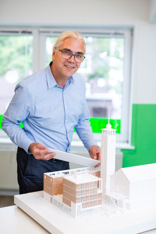 Torsten Rebbe ist Leiter von SOS-Kinderdorf Hamburg.