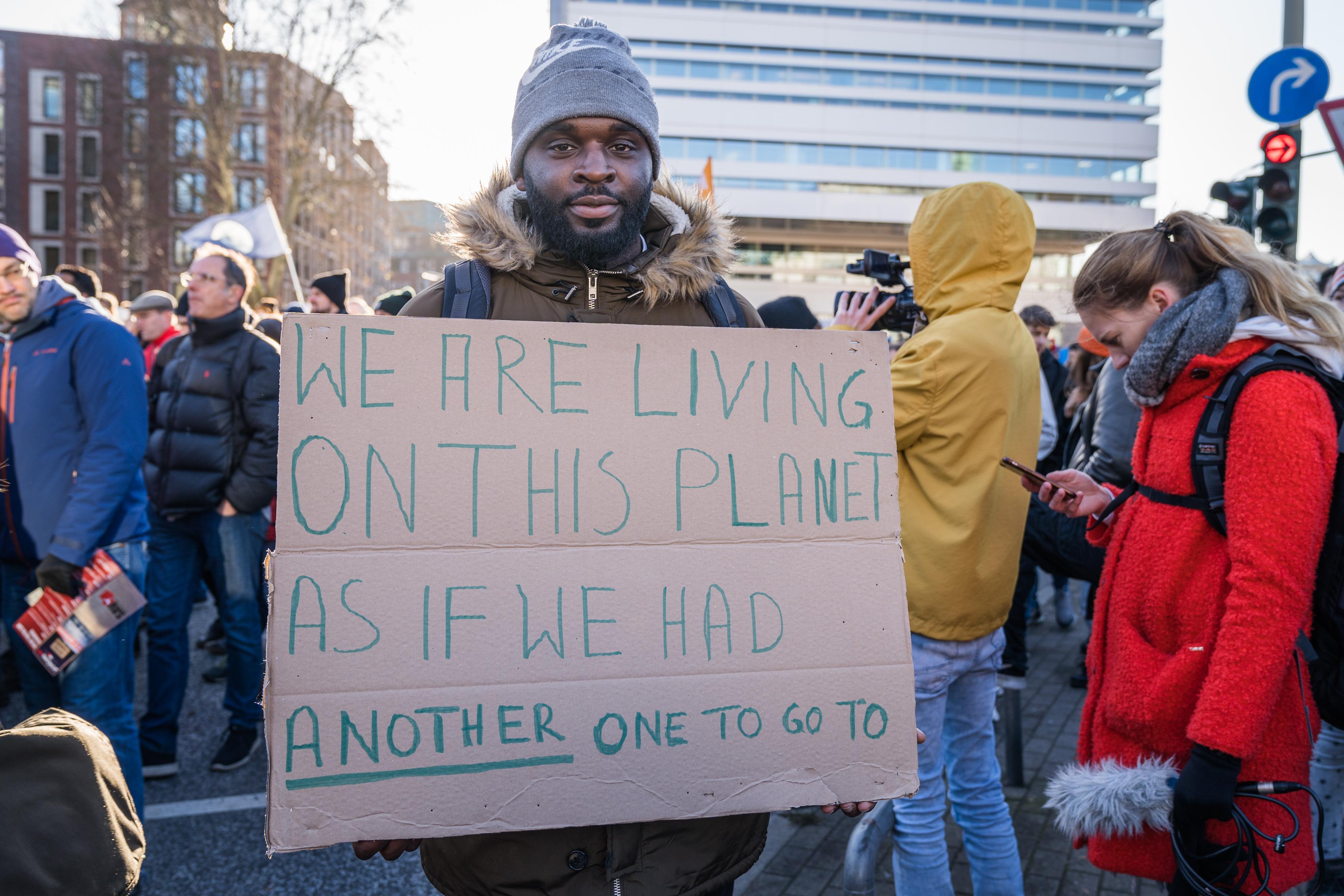 Klimaschutz: Olivio, 27 Jahre, Auszubildender aus Hamburg