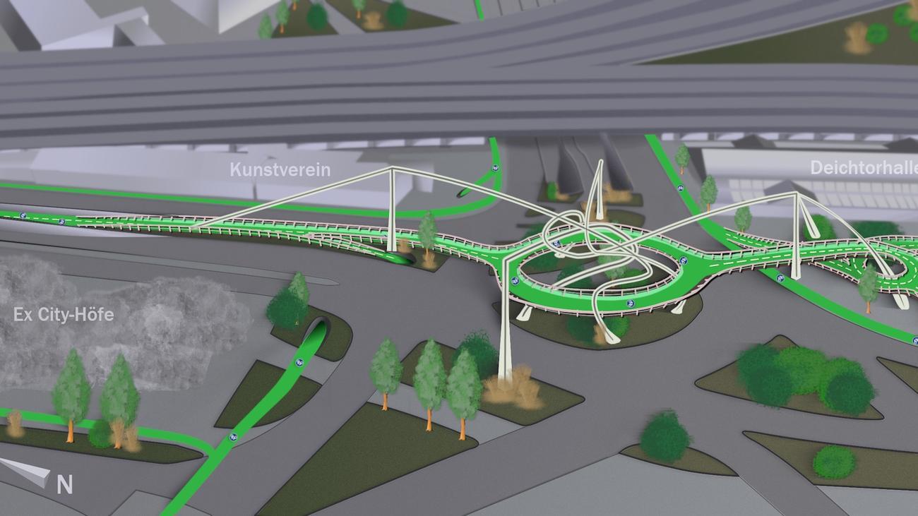 """Deichtorplatz: """"So ein Projekt, an so einem zentralen Ort, das wäre ein Radlertraum"""""""