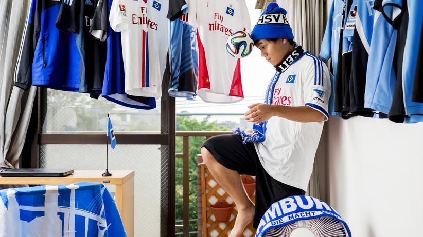 """HSV: """"Der HSV ist eine Super-Truppe"""": Takato Murase in seinem Elternhaus in Kawasaki"""