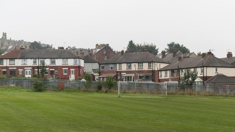 Fußball: Der Platz: Hier fand 1857 das erste Fußballspiel nach Regeln statt.