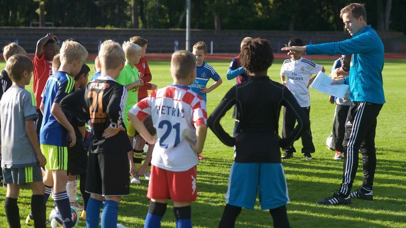 "Stephan Kerber: ""Wille schlägt Talent"", sagt DFB-Nachwuchsförderer Stephan Kerber."
