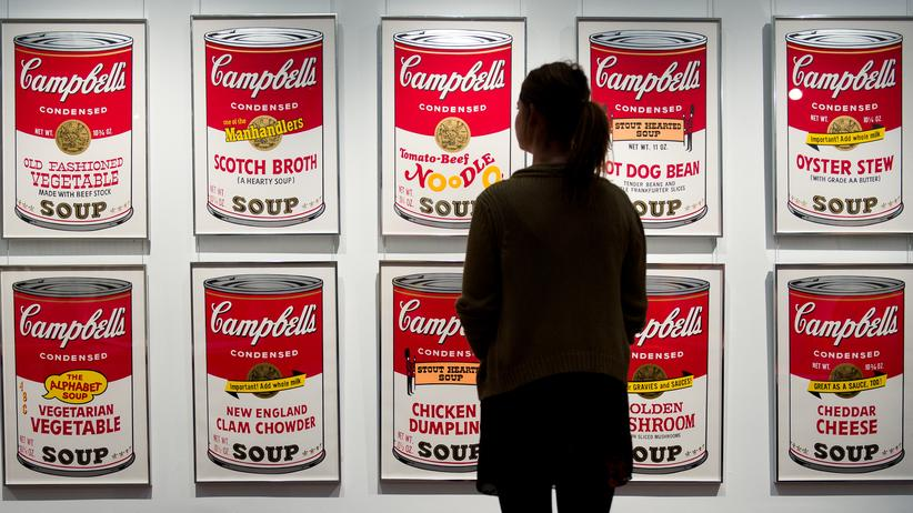 Andy Warhols Campbell-Suppendosen