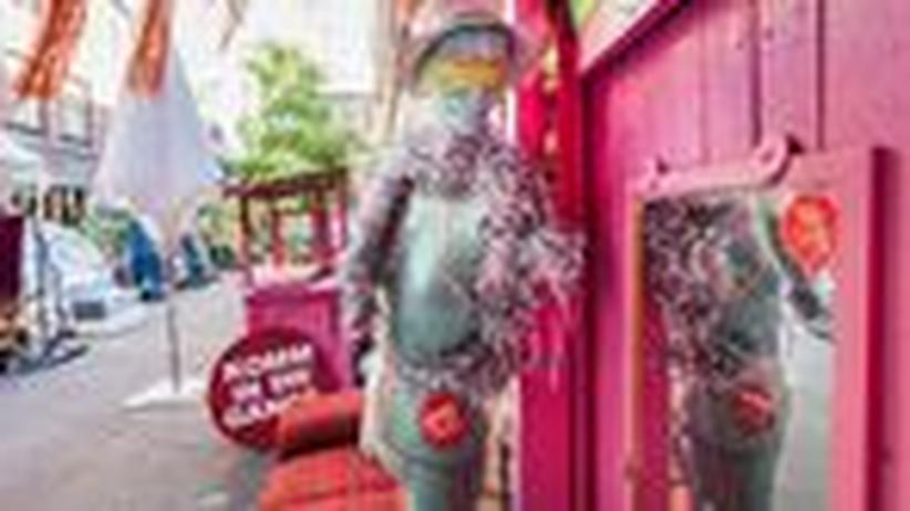 Hamburger Gängeviertel: Gängeviertel will Off-Art bleiben